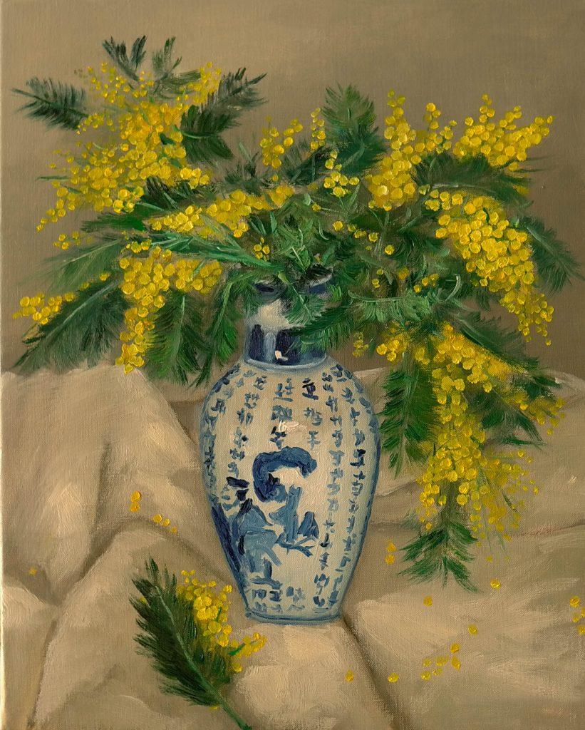 Bouquet-de-mimosa