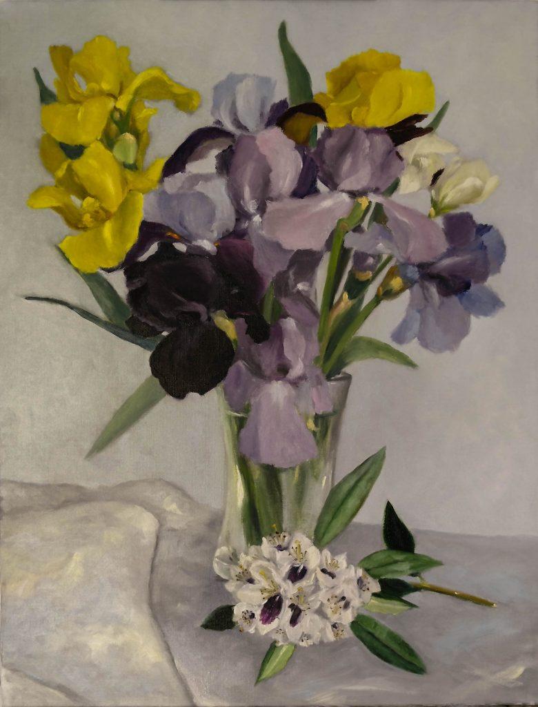 Iris-et-rhododendron