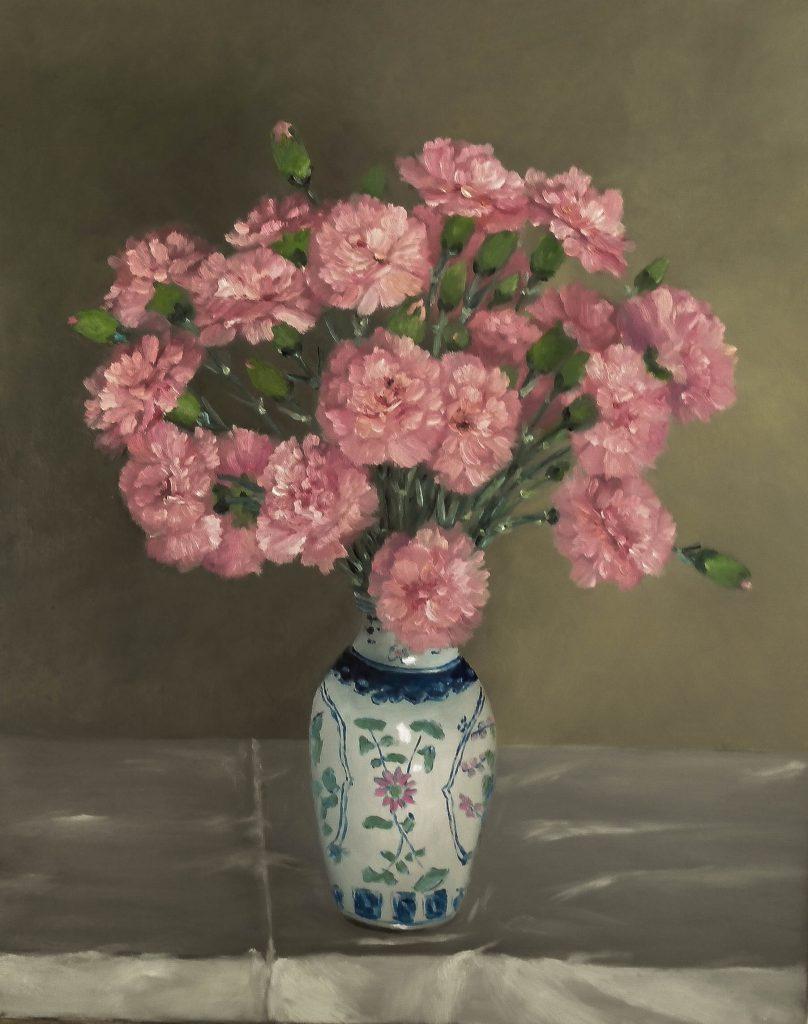 Oeillets-dans-un-vase