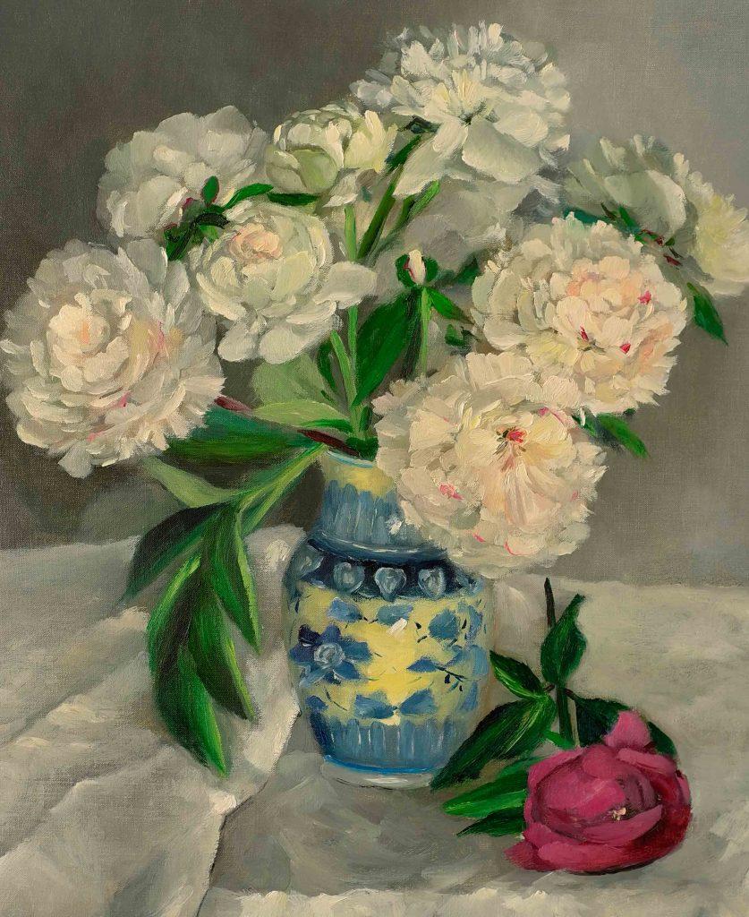 Pivoines-blanches-dans-un-vase